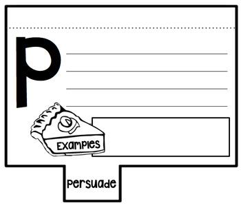 Author's Purpose File Booklet
