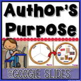 Author's Purpose Activity in Google Slides™