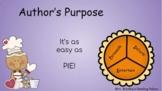 Author's Purpose Google Slides Pear Deck Presentation for