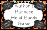 Author's Purpose Head Bands Game!