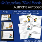 Author's Purpose Interactive Mini Book {RI.2.6}