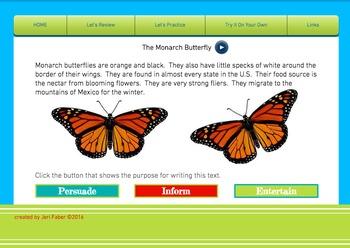 Author's Purpose Interactive Website Access