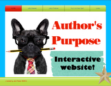 Author's Purpose Interactive Website Access