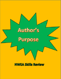 Author's Purpose - NWEA Skills Review