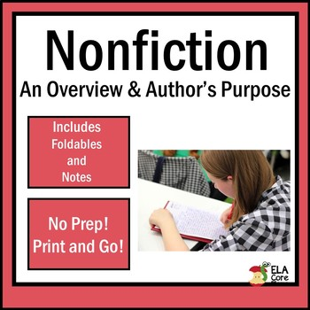 Author's Purpose & Overview of Nonfiction