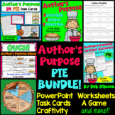 Author's Purpose Bundle (for 2nd and 3rd grade)
