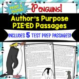 Author's Purpose PIE'ED Test Prep Passages... FREE!