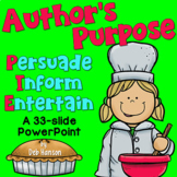 Author's Purpose PowerPoint- PIE