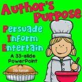 Author's Purpose PowerPoint- PIE