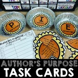 Author's Purpose PIE Task Cards