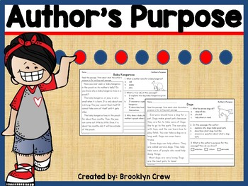 Author's Purpose Passages