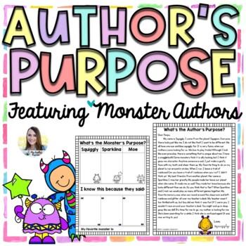 Author's Purpose Passages (Monster Authors)