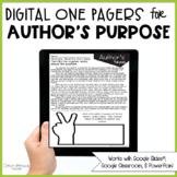 Author's Purpose Passages (Print & Digital)