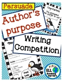 Author's Purpose: An Authentic Learning Approach (Persuade)