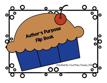 Author's Purpose Pie