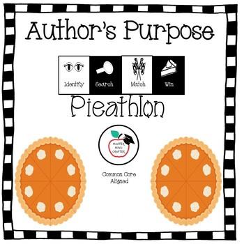 Author's Purpose Pieathlon