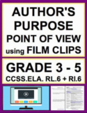 Author's Purpose & Point of View using VIDEO: NO PREP Less