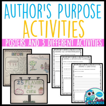 Author's Purpose - Posters and Activities