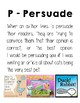 Author's Purpose Posters and Writing Prompts