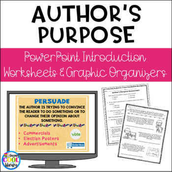 Author's Purpose PowerPoint Introduction