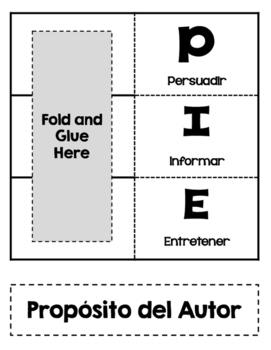 Author's Purpose/ Proposito del Autor