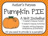 Author's Purpose Pumpkin PIE