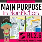 Author's Purpose 2nd Grade RI.2.6 with Digital Learning Li