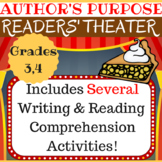Author's Purpose Reader's Theater Packet with Reading/Writ
