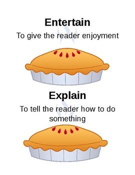 Author's Purpose Reading Skill Activity