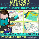 Author's Purpose | Reading Strategies | Digital and Printable