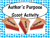 Author's Purpose Scoot Activity