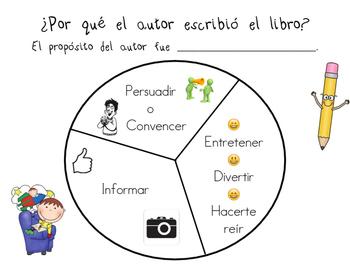 Author's Purpose Spanish/ Propósito del autor