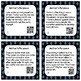Author's Purpose Task Cards with and without QR Scan Codes