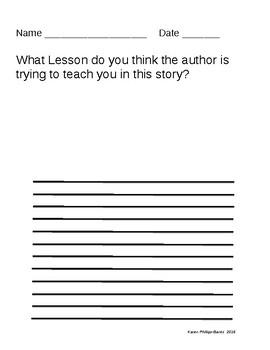 Author's Purpose - Teach a Lesson