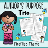 Author's Purpose Trio: Firefly Reading Passages