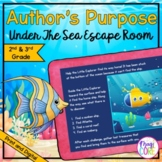 "Author's Purpose ""Under the Sea"" Escape Room  - 2nd & 3rd"