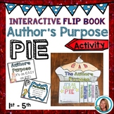 Author's Purpose Worksheets Activity with Writing and POSTERS