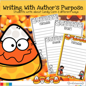 Author's Purpose Writing about Candy Corn
