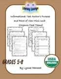 Author's Purpose and Point of View Mini-Unit