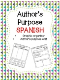 Author's Purpose in SPANISH- Proposito del Autor
