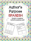 Author's Purpose in SPANISH- Proposito del Autor