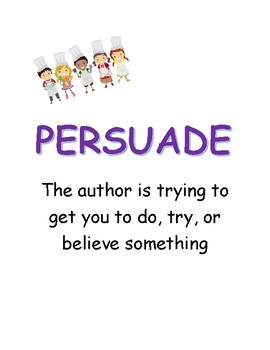 Author's Purpose is Easy as P.I.E.!
