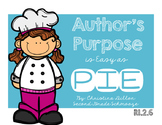 Author's Purpose is Easy as PIE ( RI.2.6 )
