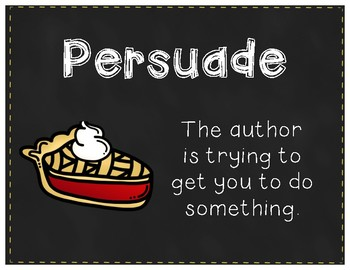 Author's Purpose (posters)