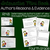 Author's Reasons and Evidence Interactive Mini Book {RI.4.8}
