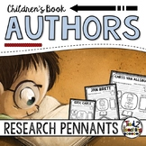 Authors Research Pennants - Beverly Cleary, Roald Dahl, Jan Brett and More