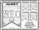 Authors Research Pennants - Dr. Seuss, Roald Dahl, Jan Bre