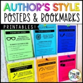 Author's Style: Anchor Charts and Bookmarks!
