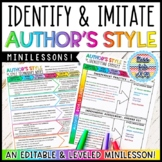 Author's Style Minilesson