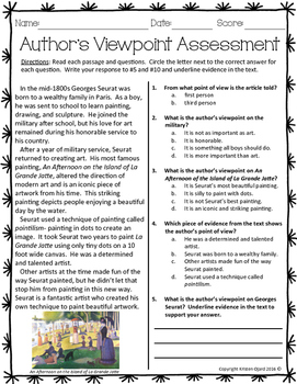 Author's Viewpoint Assessment